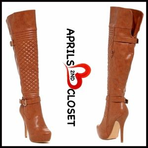 ❗1-HOUR SALE❗BOOTS Vegan Leather Over The Knee