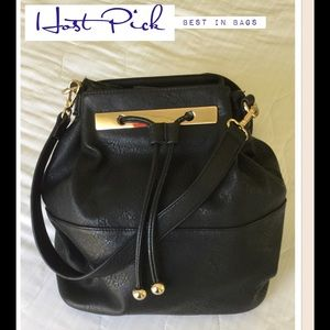 Bass Handbags - REDUCED🎉2X HP🎉Convertible Bucket/Backpack