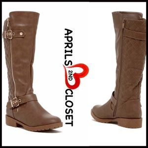 Boutique Shoes - ❗1-HOUR SALE❗TALL BOOTS Riding Moto Boots