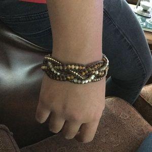 Beautiful Chan Luu bracelet.