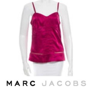 Marc Jacobs Tops - Marc Jacobs Magenta Silk Cami Blouse