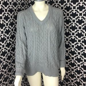 🆕LISTING Gray Ribbed Sweater