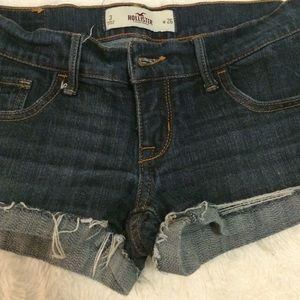 Hollister size 3 denim shorts