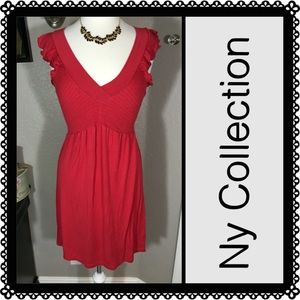 NY Collection Dresses & Skirts - ny collection Red Dress Size Small ❣