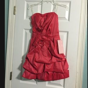 Sequin Hearts Dresses & Skirts - Coral formal dress