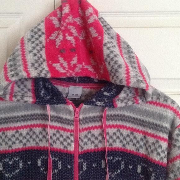Fair Isle print Plus Size plush onesie 2X from Victoria's closet ...