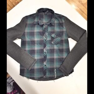 Fox Tops - Fox Racing Flannel and Thermal Plaid Top Size XS