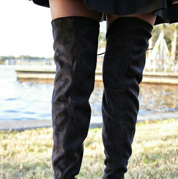JustFab Shoes - Thigh high boots