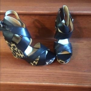 Unlisted Shoes - Unlisted Kenneth Cole Animal Print Wedge