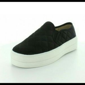 Wanted Shoes - Wanted Railway Black Sneakers New
