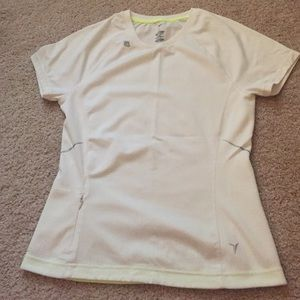 Old Navy Tops - White Old Navy Active V Neck Workout Shirt