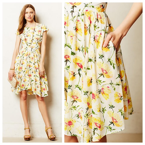340acc7047 Anthropologie Dresses & Skirts - Anthropologie Pleated Matilija Dress by Lil