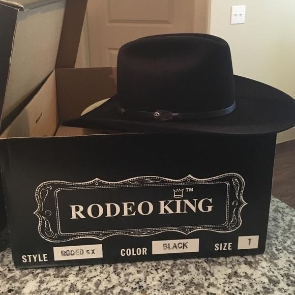 31ab66b9570fd4 Felt Cowboy hat Rodeo King 5XXXXX Beaver Quality. M_57aa74894e95a3dec50129b1