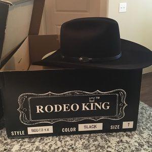 Rodeo King Accessories - Felt Cowboy hat Rodeo King 5XXXXX Beaver Quality 39e93b2c4d8