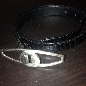 Istante Italy leather belt