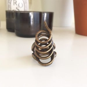 Low Luv x Erin Wasson Jewelry - Low Luv x Erin Wasson Snake Coil Ring