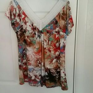 Cable & Gauge Tops - Cute blouse.new
