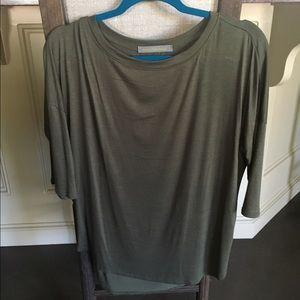 Oversized army green shirt size medium