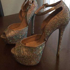 a7db654aad Betsey Johnson Shoes - Betsey Johnson SB Kiss Platform Champagne
