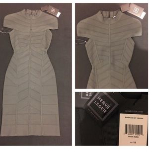 Herve Leger Dresses & Skirts - NWT Herve Leger Bodycon Dress XS $1450 SOLDOUT