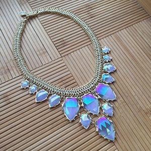 Kendra Scott Gretchen Necklace - Iridescent Slate