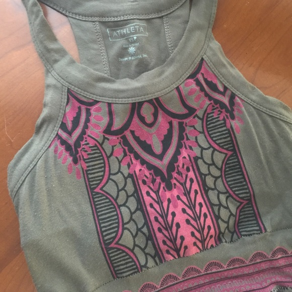 Athleta printed rio maxi dress