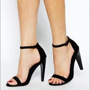 ASOS heeled sandals in size 35