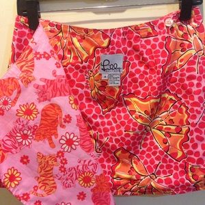 Lilly Pulitzer Dresses & Skirts - Lilly Pulitzer Tigers Butterflies Reversible Skirt
