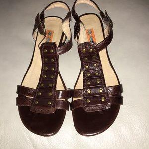 Miz Mooz Shoes - Brown Miz Mooz Sandals
