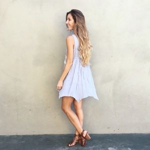 | new | angled hem dress