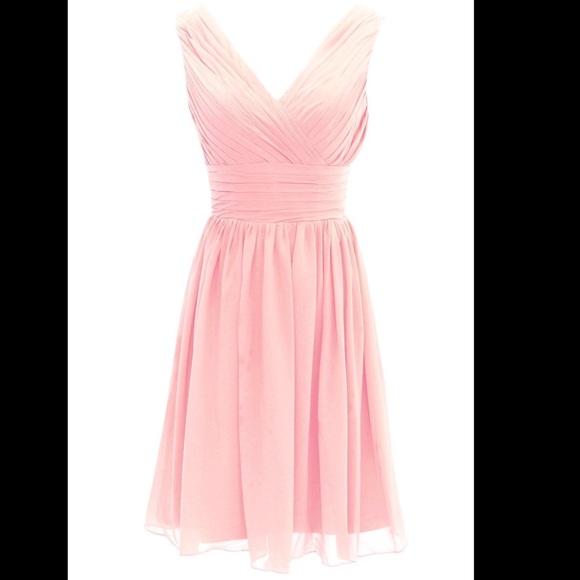 Yan Lian Bridal Dresses | Blush Light Pink Dress Plus Size Curvy ...