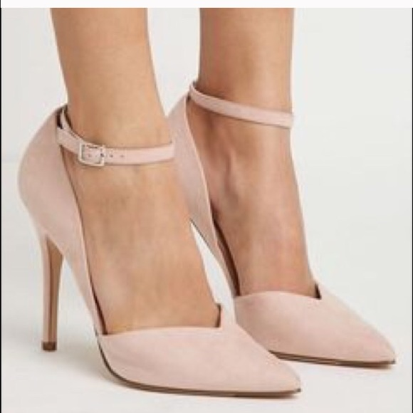 Forever 21 Shoes Blush Colored High Heels Poshmark