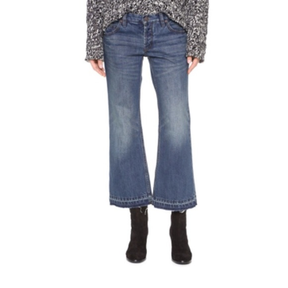 34% off Free People Denim - Free People Jacob Cropped Flare ...