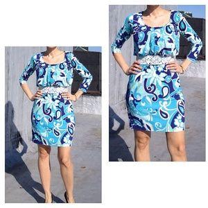 Donna Morgan Dresses & Skirts - Colorful dress Donna Morgan. NO-wrinkle.