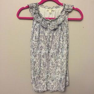 Size XS Banana Republic sleeveless blouse