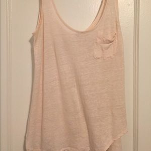 AG tank top in blush