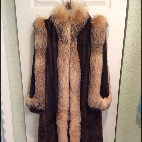 70% off Saga Furs Jackets & Blazers - Vintage Saga Mink Fur Coat ...