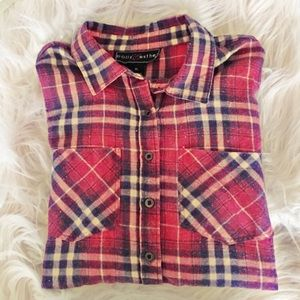 Polly & Esther Tops - Flannel with Back Design