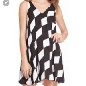 NWOT Maternity Dress Sam Edelman Black & White