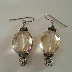Jewelry - Bronze Teardrop Earrings NWOT