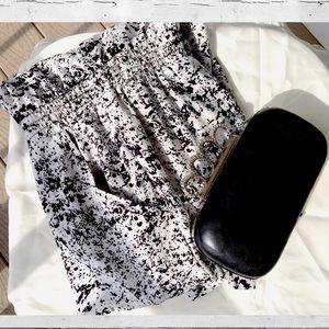 Splatter-print Jumpsuit ⚫️⚪️