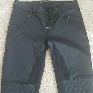 "Zara Denim - Zara ""wax"" coated slim fit jeans premimum collect."