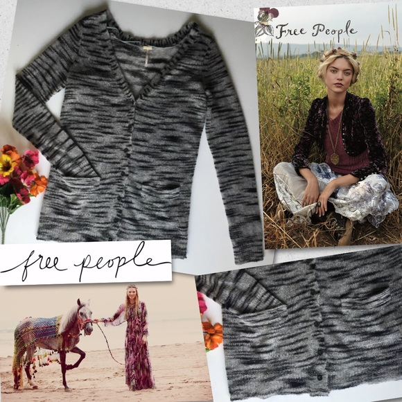 b62aad8880 Free People Sweaters - FP BEACH FREE PEOPLE MOHAIR TOP SWEATER CARDIGAN