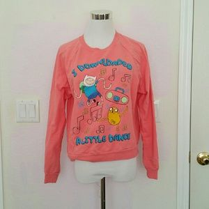Mighty Fine Other - Adventure Time cartoon sweater