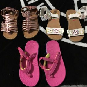 Rachel Other - Self esteem  glittery pink sandals