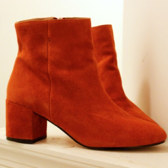 51ce8db639a7 Rust Thelma Suede Ankle Boots. M 57ab6063fbf6f93c1e006948