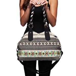 Southern Girl Fashion Handbags - DUFFLE BAG Bohemian Weekender Convertible Shoulder