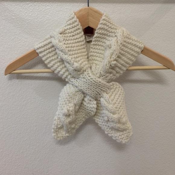 Anthropologie Accessories Host Pick Knit Ascot Scarf Poshmark