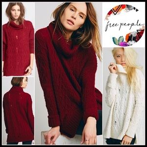 Free People Sweaters - ❗️1-HOUR SALE❗️FREE PEOPLE PULLOVER TUNIC SWEATER
