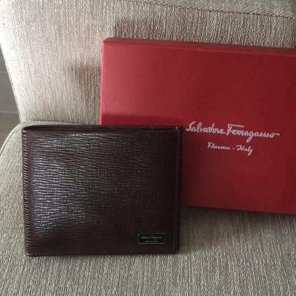baf7ce23a2bf Salvatore Ferragamo wallet men s brown authentic
